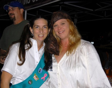 2008_Halloween Awards Party – Monica Saye and Theresa Richardson