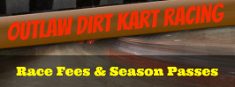 KAM Kartway Race Fees and Season Pass information
