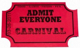 Admit Everyone to the carnival at KAM Kartway