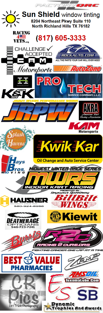 amazing kam kartway sponsors and supporters